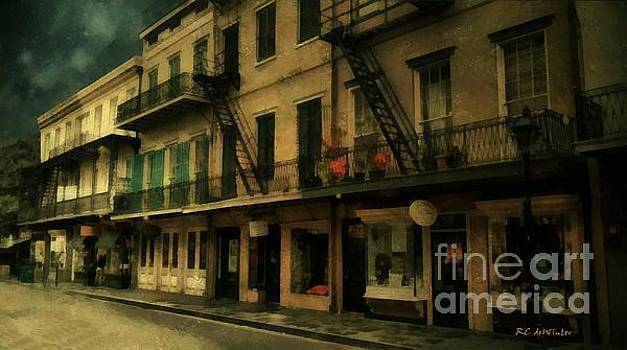 The City Sleeps by RC deWinter