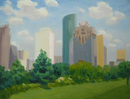 The City Stands Tall by Texas Tim Webb