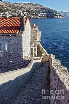 The City Walls Dubrovnik Croatia by Jasna Dragun