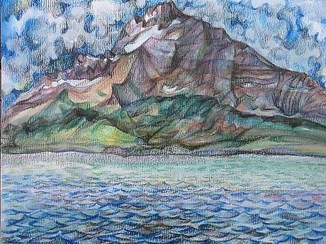 Anna  Duyunova - The cliff