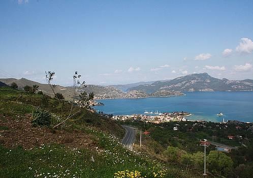 Tracey Harrington-Simpson - The Coast of the Bozburun Peninsula Selimiye