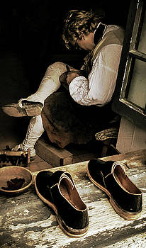 The cobblers window by Bruce Carpenter