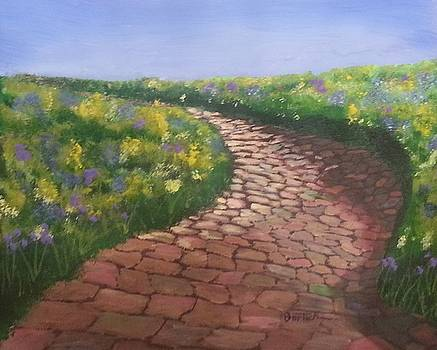 The Cobblestone Road 2 by David Bartsch