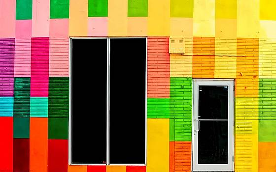 The Colorful Entrance - Wynwood Miami by Chrystyne Novack