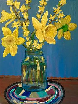 The Colors Of Spring by Marita McVeigh