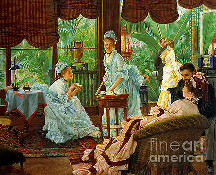 The Conservatory 1875 by Padre Art
