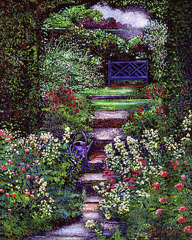 The Contemplation Place by David Lloyd Glover