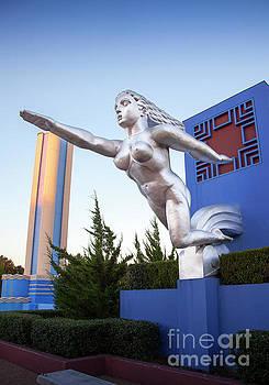 The Contralto Statue, The State Fair of Texas Esplanade by Greg Kopriva