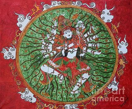 The cosmic dancer by Saranya Haridasan