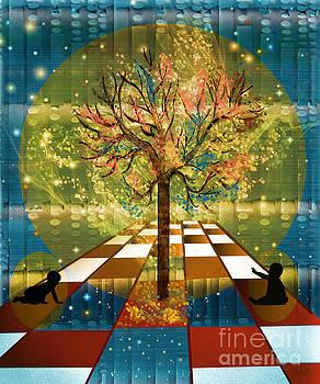 The Cosmic Tree by Sydne Archambault