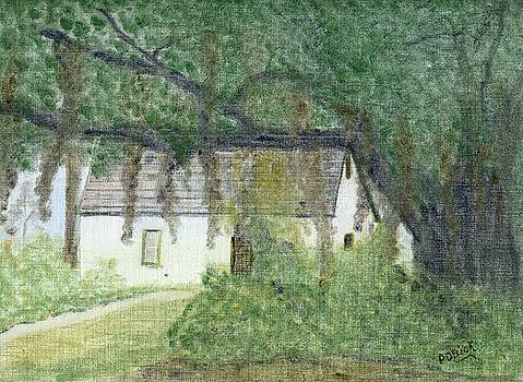 The Cottage-st. Simons Is. Ga by Diane Frick