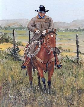 The Cowboy by Peggy Conyers