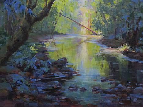 The Creek by Karen Ilari