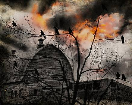 The Crows Wait by Gothicrow Images