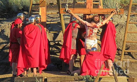 The Crucifixion of Christ  by John Malone