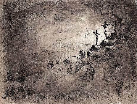 The Crucifixion by Rachel Christine Nowicki