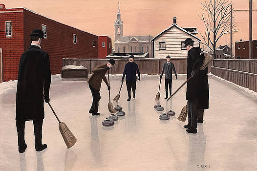 The Curlers by Dave Rheaume