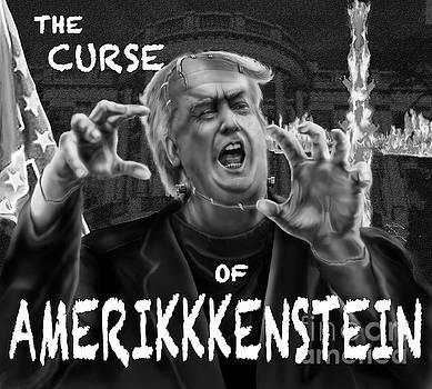 The Curse of Amerikkenstein by Reggie Duffie
