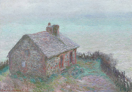 Claude Monet - The Customs House at Varengeville