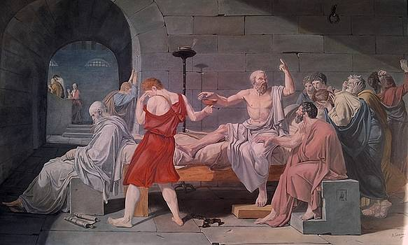The Death of Socrates Reproduction by Alexandros Tsourakis