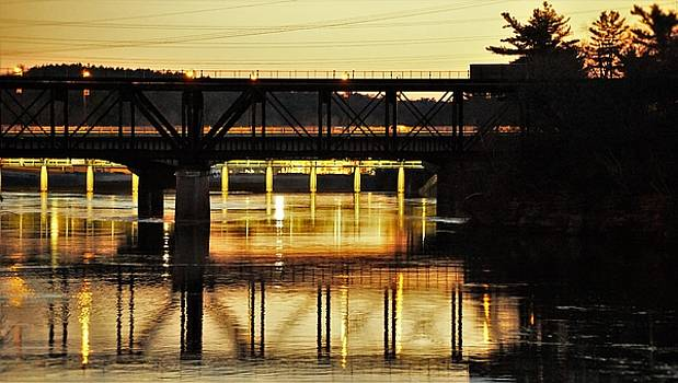 The Dells Bridge by Jeff Murphy