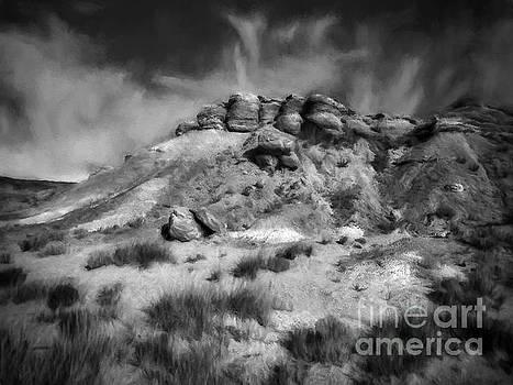 The Desert  ... by Chuck Caramella