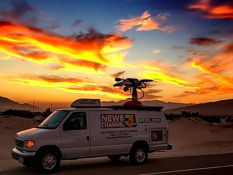 The Deserts News Leader by Chris Tarpening