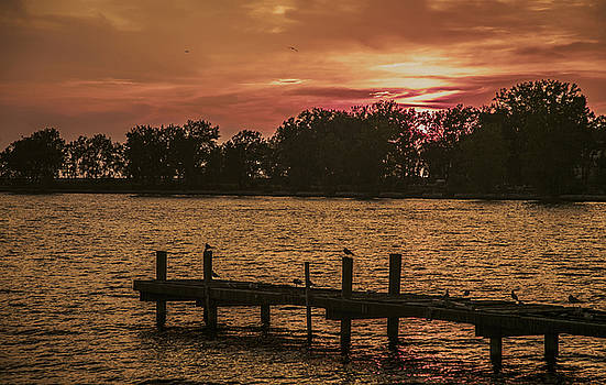 The Dock Of The Bay by Jim Markiewicz