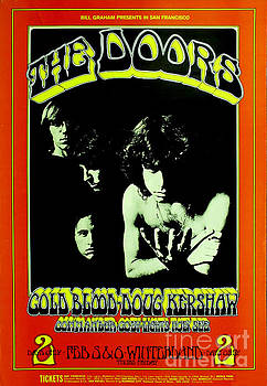The Doors Poster by Pd