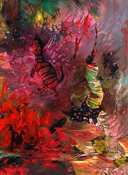 Miki De Goodaboom - The Dream Of A Red Zebra In Africa