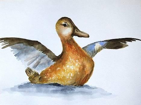 The Duck. by Annemeet Hasidi- van der Leij