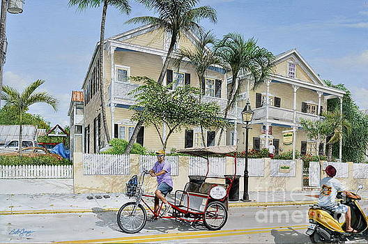 The Duval House, Key West, Florida by Bob George