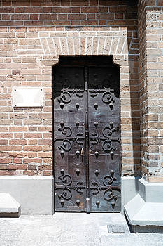 The East Side Door Of The Cathedral by David Cardona