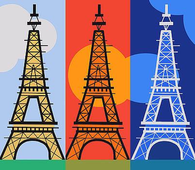 The Eiffel Tower by Elena Bespalova