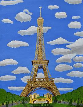 The Eiffel Tower  by Magdalena Frohnsdorff
