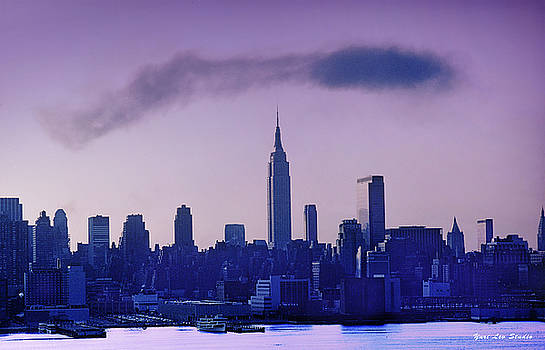 The Empire State Building at 6 A.M. by Yuri Lev