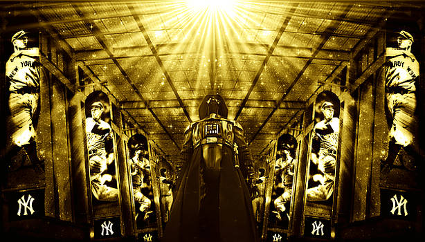 The Empire Strikes Back New York Yankees Edition II by Aurelio Zucco