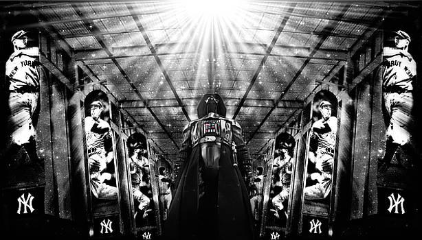 The Empire Strikes Back New York Yankees Edition III by Aurelio Zucco