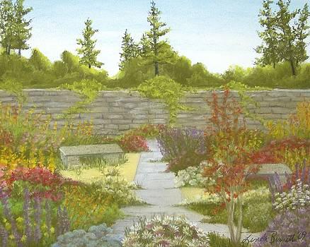 The English Garden by Linda Bennett