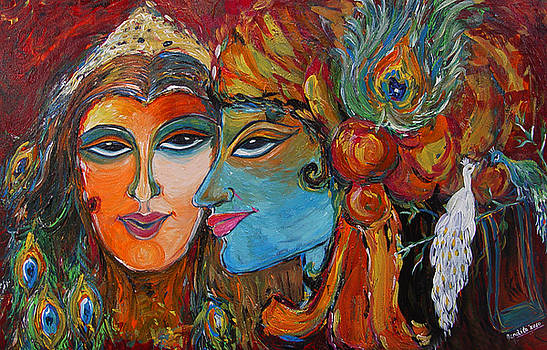 The Eternal Kiss by Nandita  Richie