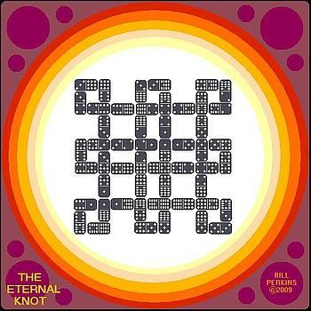 The Eternal Knot Motif in Rainbow by Bill Perkins