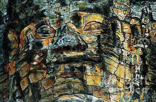 The Face of the Buddha by Joey Agbayani