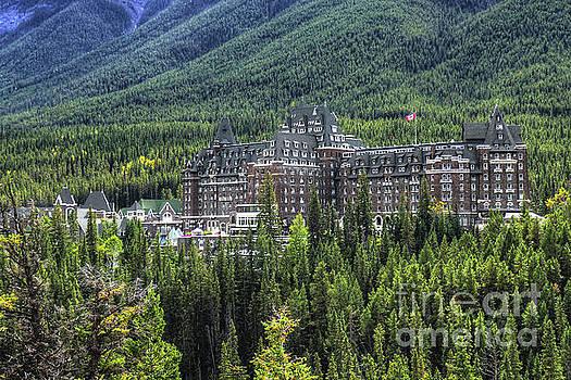The Fairmont Banff Springs by Wayne Moran