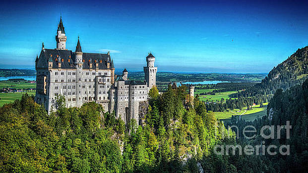 The Fairy tale Castle by Pravine Chester