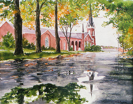 The Federated Church by Maryann Boysen