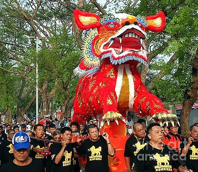 The Fire Lion Procession in Southern Taiwan by Yali Shi