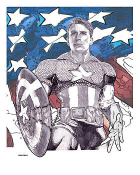 The First Avenger by Peter Melonas