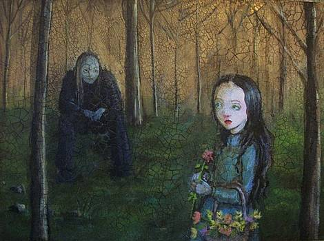 The first encounter with the vampire by Mya Fitzpatrick