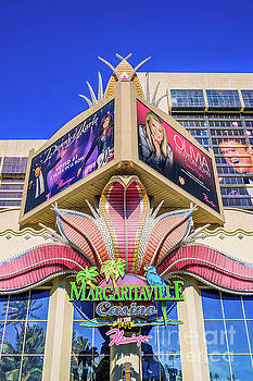 The Flamingo Margaritaville Sign by Eric Evans