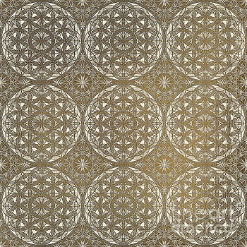 The Flower of Life - pattern by Klara Acel